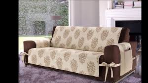 Diy Slipcovers For Sofas by Elegant Sofa Covers Diy Decoration Ideas Youtube