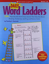 amazon com daily word ladders grades 2 u20133 100 reproducible word