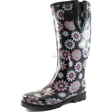 womens zebra boots fashion rainboots boots shoes