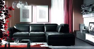 Black Leather Sofa Interior Design Fantastic Room Design Ideas Black Leather Furniture Home Ack