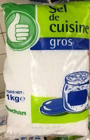 sel de cuisine sel de cuisine gros pouce 1 kg