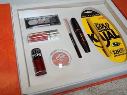 bridal makeup box maybelline instaglam wedding box review products price photo