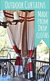 Cheap Outdoor Curtains For Patio Drop Cloth Curtains For My Patio Drop Cloth Curtains Patios And