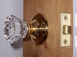 perfect interior crystal door knob set fit any door with features