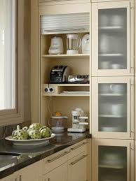 Appliance Storage Cabinet Room By Room Inspiration Series The Kitchen Counter Top