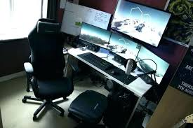 ultimate gaming desk setup gaming office desk ultimate gaming office desk chair atken me