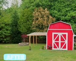 Small Barns My Pretty Red Barn A Cultivated Nest