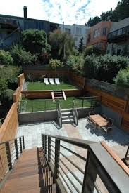 terraced backyard landscaping ideas garden design with backyard landscapes awesome exterior small the