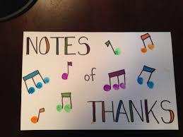 music teacher thank you card fingerprint music notes a team