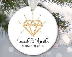 personalized engagement ornaments 13015 s