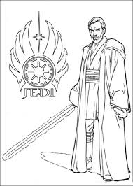 star wars obi wan kenobi coloring free printable coloring pages