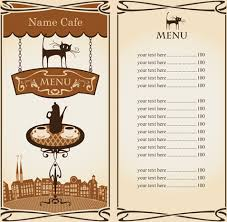 adobe illustrator cafe menu template free vector download 218 398