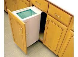 simplehuman in cabinet trash can cabinet door trash can trash cabinet door trash cans hopblast co