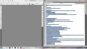 document creator with table of contents indesign estk javascript