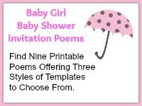 baby girl poems baby shower simplicity baby shower themes invitations