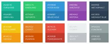 Flat Color Combination Download Flat Pallet Zijiapin