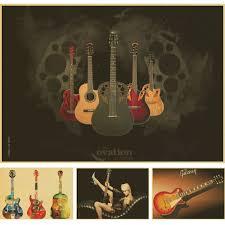 famous guitars poster reviews online shopping famous guitars