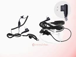 surveillance ear earpiece headset mic for motorola radius handheld