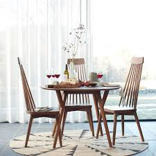 Contemporary Dining Room Tables And Chairs by Mid Century Round Dining Table West Elm