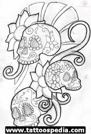 sugar skull tattoo design ideas tattoomagz