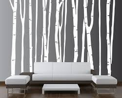 Wall Decals For Living Room Inspiring Nature Themed Wall Decals For Living Room Thementra Com