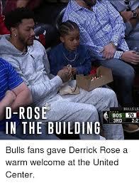D Rose Memes - d rose in the building bulls le bos 3rd 22 bulls fans gave derrick