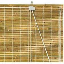 Burnt Bamboo Roll Up Blinds by Burnt Bamboo Roll Up Blinds Natural Walmart Com
