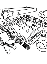 islamic coloring pages 1 coloring kids