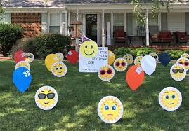 signs top lawn decorations for birthdays room design ideas