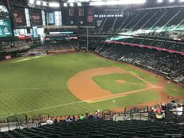 Diamondbacks Stadium Map Chase Field Section 325 Arizona Diamondbacks Rateyourseats Com