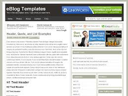 free blogger templates u0026 premium wordpress themes eblog templates