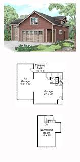 Home Plans With Rv Garage by 49 Best Garage Apartment Plans Images On Pinterest Garage
