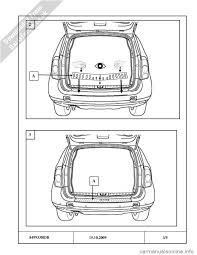 dacia duster 2010 1 g bootlip protector fitting guide workshop manual