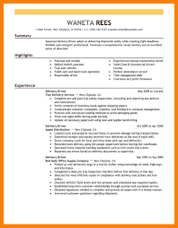 Forklift Driver Resume Template 100 Warehouse Delivery Driver Resume Conclusion For Media Essay