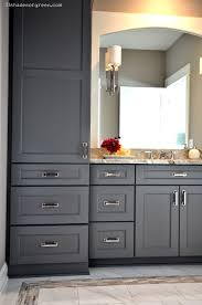 Omega Bathroom Cabinets by 33 Shades Of Green Lakehouse Home Tour My Bathroom Like The