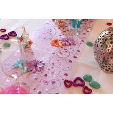 chemin de table mariage chemin table décoration de table mariage pas cher