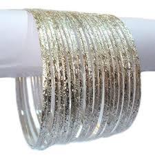 Esszimmerst Le M El H Fner Armreifen Set ø 7cm Armband Bollywood Indien Armschmuck Choorian