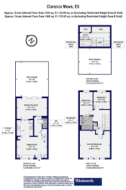 Clarence House Floor Plan 3 Bedroom Property For Sale In Clarence Mews London E5 795 000