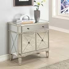 Console Tables Cheap by Small Mirrored Console Table With Drawer And Cabinets Of Elegant