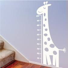 childrens and kids wall stickers nursery wall vinyls by wallboss measuring height wall sticker