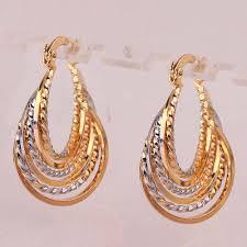 beautiful gold earrings earrings gold earrings in 3 grams beautiful gold earrings for