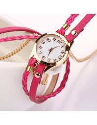 ladies leather bracelet watches images 10 colors new arrival luxury casual women watches pu leather jpg