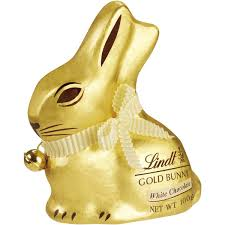 white chocolate bunny lindt gold bunny white chocolate 100g woolworths