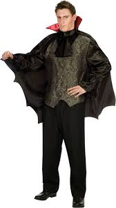 mens dapper dracula vampire costume mr costumes