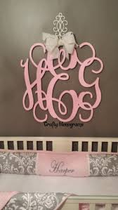appealing monogram wood letters 45 monogram wooden letters for