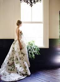 floral wedding dresses floral wedding dress inspiration bridal gown 100 layer cake