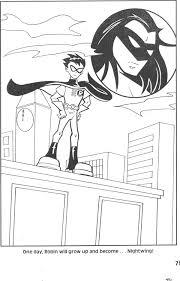 teen titans coloring book 9 rustytoons deviantart