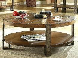wood coffee table with wheels rustic wood and metal coffee table modern weathered gray iron