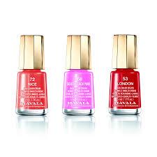 mavala 3 pcs nail polish set 3 london 53 nice 72 and south beach