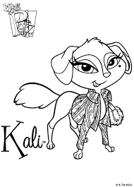 8 fanciful pets images coloring books